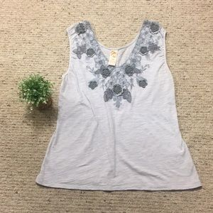 {Anthropologie} Through the Clouds Tank